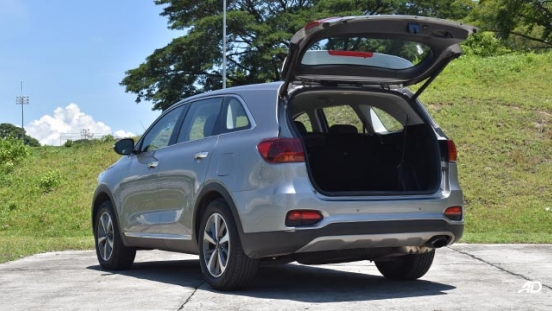 2019 Kia Sorento rear tail gate