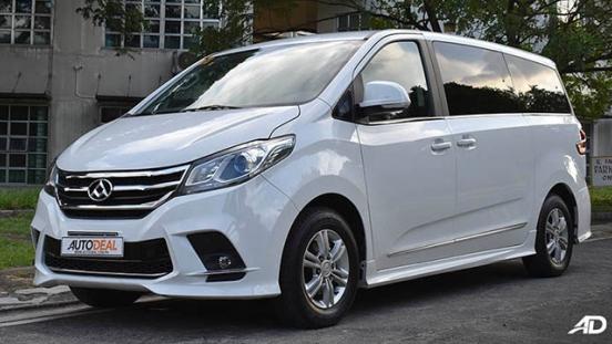 2019 Maxus G10 front quarter philippines