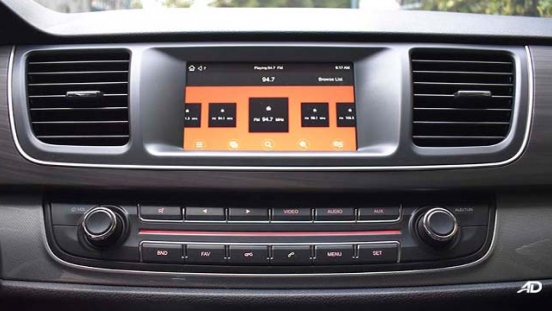 2019 Maxus G10 infotainment system philippines