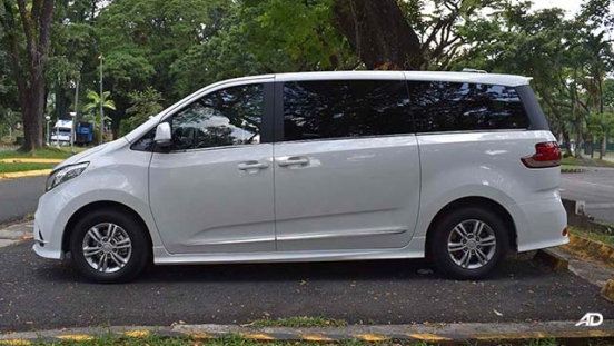 2019 Maxus G10 side profile philippines