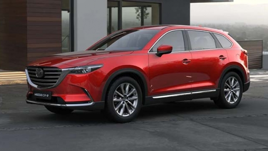 2019 Mazda CX-9 soul red philippines