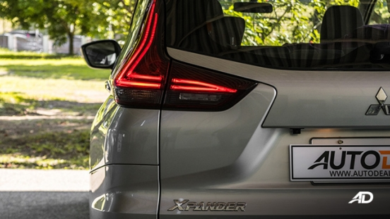 2019 Mitsubishi Xpander exterior taillights Philippines