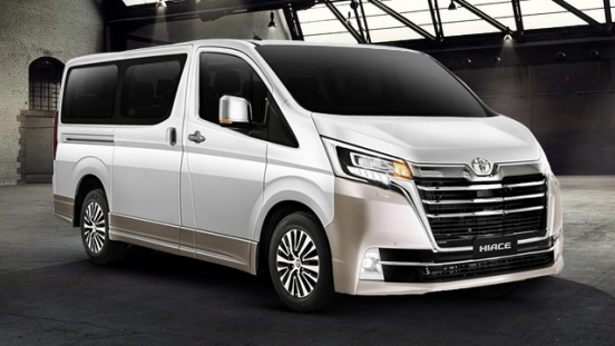 2019 Toyota Hiace Super Grandia Elite Two-tone philippines