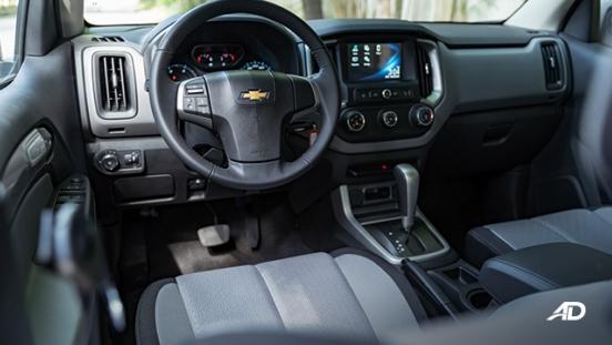 2020 Chevrolet Colorado interior cabin