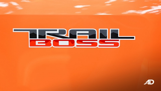 2020 Chevrolet Colorado trail boss badge