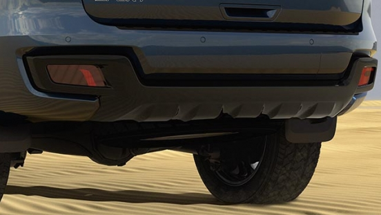 2020 Ford everest sport rear bumper