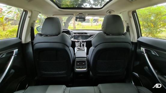 2020 Geely Azkarra interior back seats Philippines