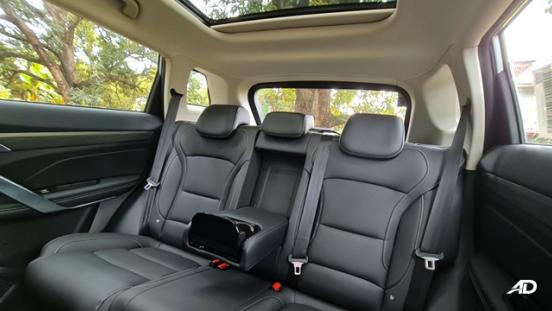 2020 Geely Azkarra interior rear seats Philippines