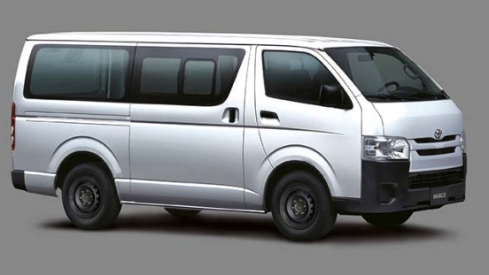 2020 Hiace Cargo exterior side Philippines