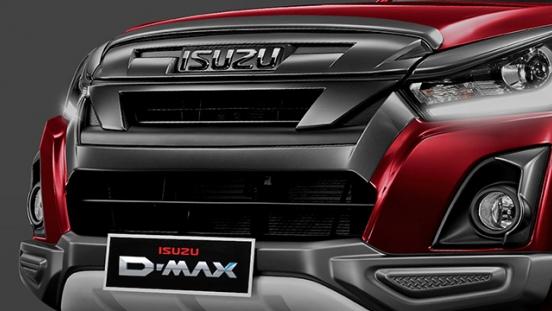 2020 Isuzu D-Max LS-A exterior Philippines