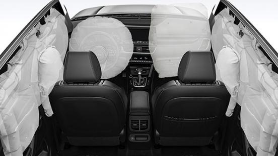 2020 Kia Seltos airbags
