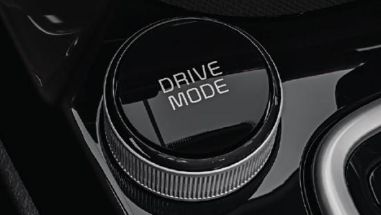 2020 Kia Seltos drive mode selector