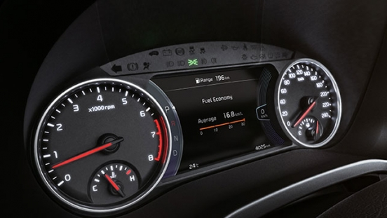 2020 Kia Seltos gauges