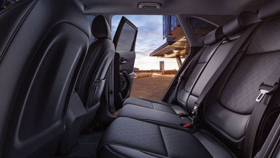 2020 Kia Seltos rear seats