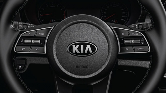 2020 Kia Seltos steering wheel