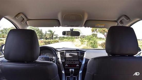 2020 Montero Sport GT 4x2 interior dashboard