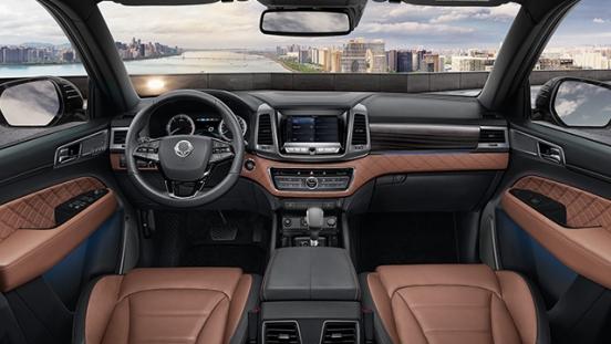 2020 Ssangyong Rexton interior dashboard Philippines