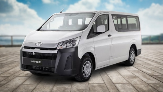 2020 Toyota Hiace Commuter Deluxe