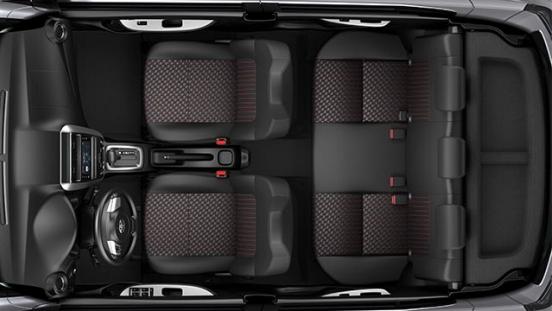 2020 Toyota Wigo G interior space