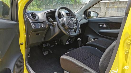 2020 Toyota Wigo TRD S driver's seat