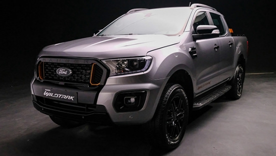 2021 Ford Ranger Wildtrak exterior front Philippines