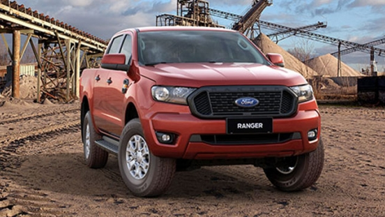 2021 Ford Ranger XLS front quarter philippines