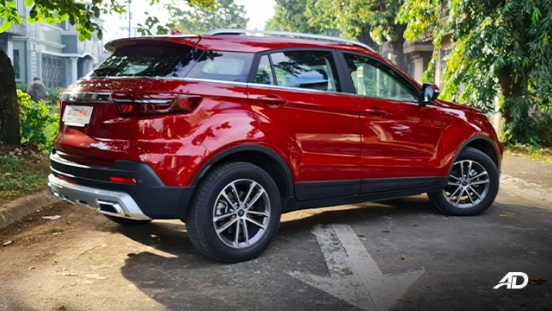 2021 Ford Territory Trend exterior quarter rear Philippines
