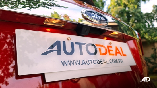 2021 Ford Territory Trend exterior reversing camera Philippines