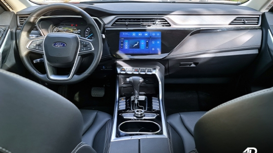 2021 Ford Territory Trend interior dashboard Philippines