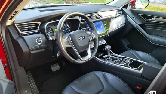 2021 Ford Territory Trend interior driver's side Philippines