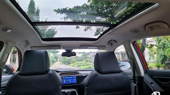 2021 Ford Territory Trend interior panoramic sunroof Philippines