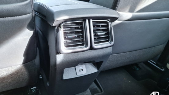 2021 Ford Territory Trend interior rear air vents Philippines