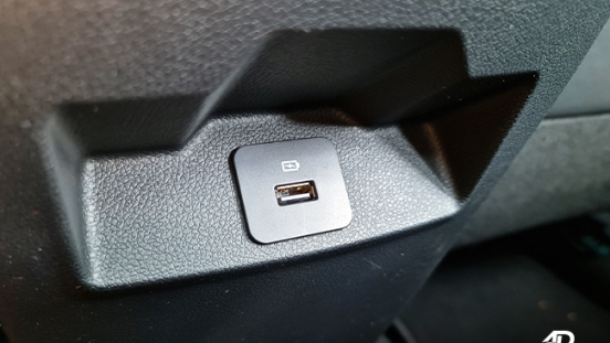 2021 Ford Territory Trend interior USB charging port Philippines