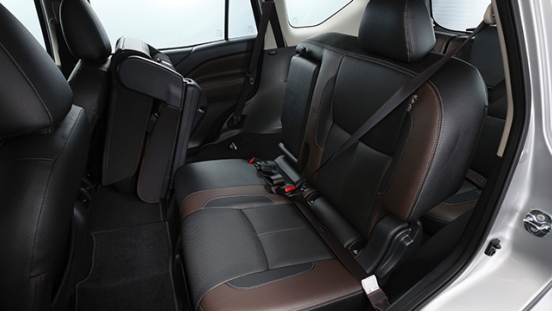 2021 Nissan Terra VL Philippines Interior rear seats