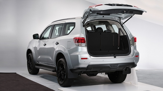 2021 Nissan Terra VL Philippines rear trunk cargo