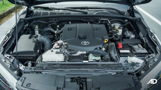 2021 Toyota Fortuner G DSL Philippines 2.4-liter diesel engine