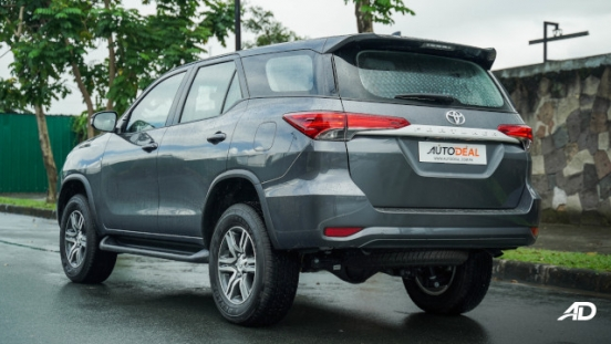 2021 Toyota Fortuner G DSL Philippines exterior rear quarter