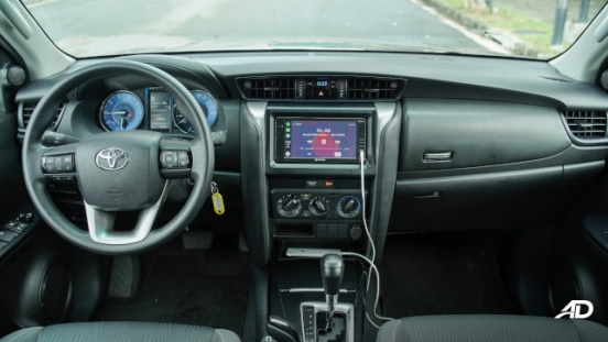 2021 Toyota Fortuner G DSL Philippines Interior Dashboard