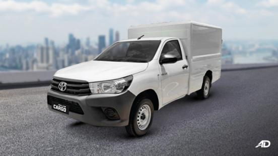 2021 Toyota Hilux Cargo exterior quarter front Philippines