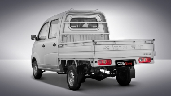 Changhe Work Buddy Freedom rear double cab