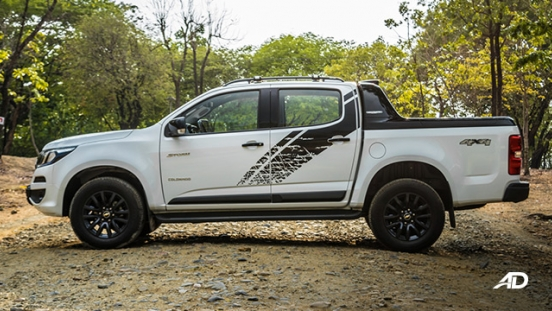 chevrolet colorado high country storm road test exterior side