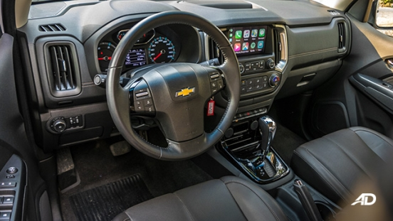 chevrolet colorado high country storm road test interior cabin