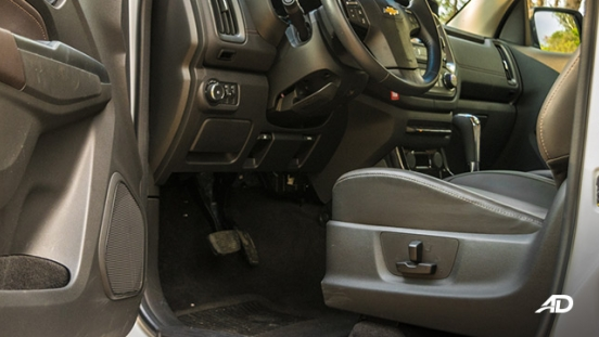 chevrolet colorado high country storm road test interior front cabin
