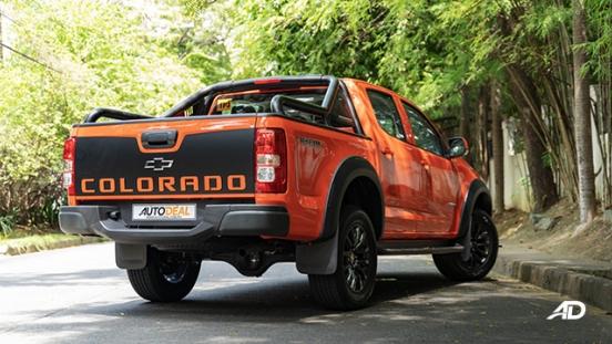 Chevrolet Colorado Trail Boss rear quarter
