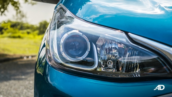 chevrolet spark road test exterior headlights