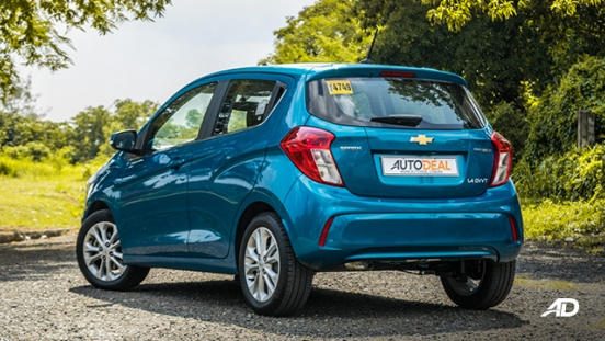 chevrolet spark road test exterior rear philippiens