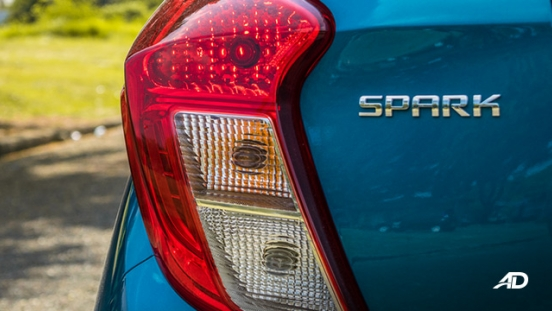chevrolet spark road test exterior taillights philippines