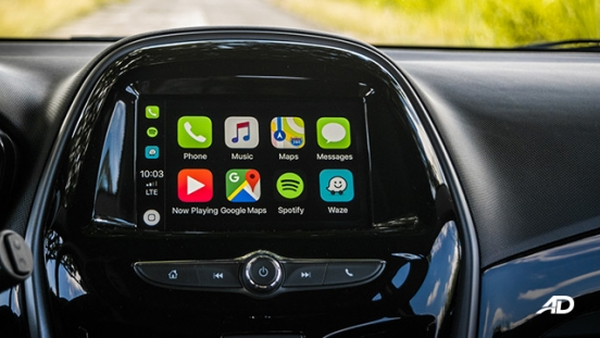 chevrolet spark road test interior infotainment apple carplay