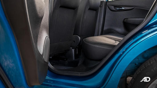 chevrolet spark road test interior rear legroom philippines