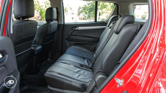 Chevrolet Trailblazer 2018 back seat